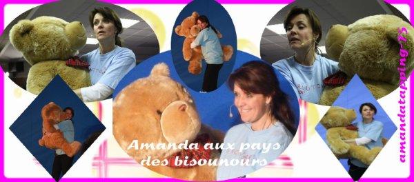 Amanda aux pays des bisounours