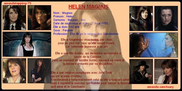 Amanda Tapping alias Helen Magnus