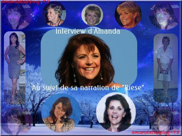Amanda Tapping Narre Riese!