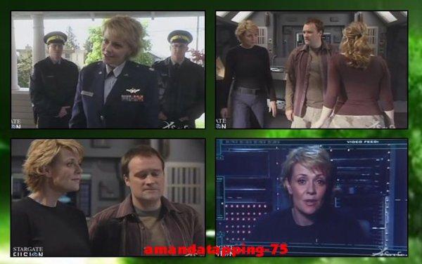 Samantha Carter dans Stargate Atlantis