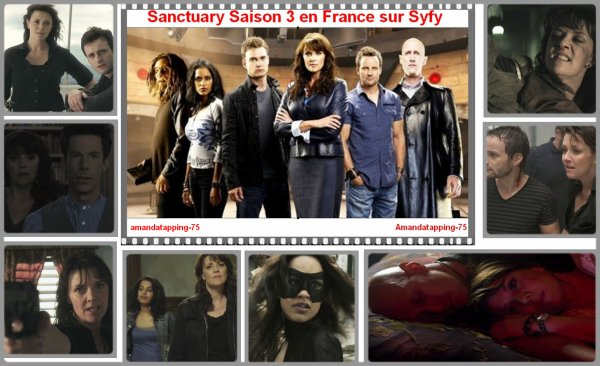 Sanctuary Saison 3 enfin en France!