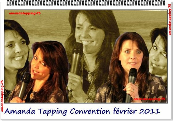Amanda a donné une convention  a Londres entre le 11 et le 13 février 2001