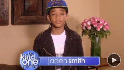 Jaden Smith le fils du celebre acteur Will Smith