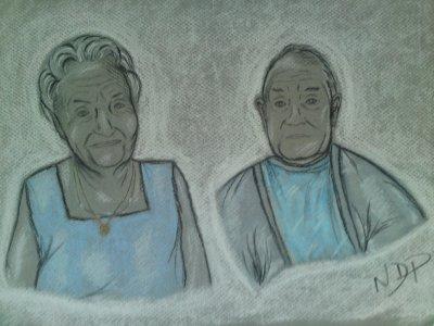 Mes grands parents ...mes amours ...