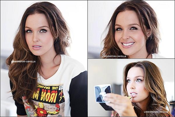 Découvrez une session de shooting de Camilla datant de 2013