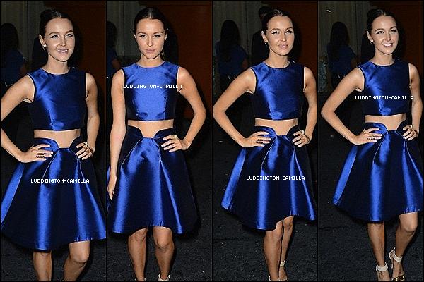 Le 14/08/13: Camilla a participé à laSummer Soiree InStylehier soir à West Hollywood.