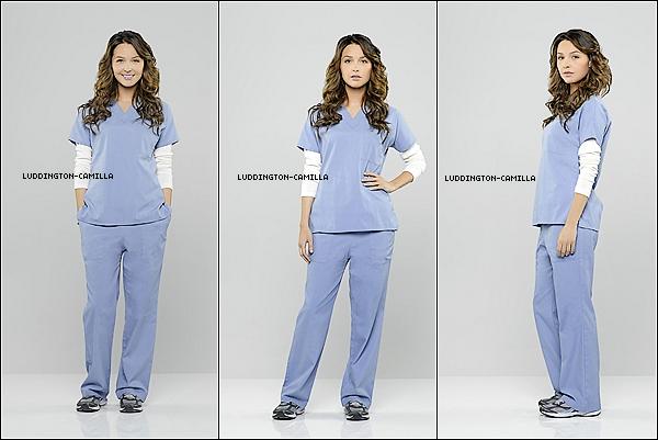 Voici 4 nouvelles photos promo de Camilla pour la saison 10 de Grey's Anatomy
