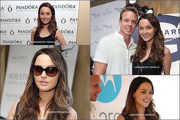 """Le 22/09/13: Camilla était présente a la""""HBO Luxury Lounge 2013"""""""