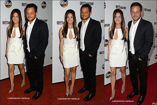 """Le 27/09/13: Camilla ainsi que ses co-star étaient tous présent au""""200Th Episode Celebration Grey's Anatomy"""""""
