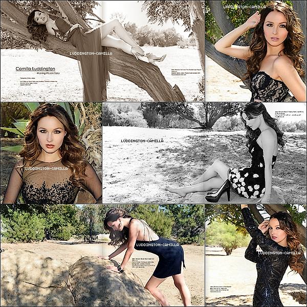 Voici toutes les photos du shooting de notre Sublime Camilla pour REGARD MAGAZINE