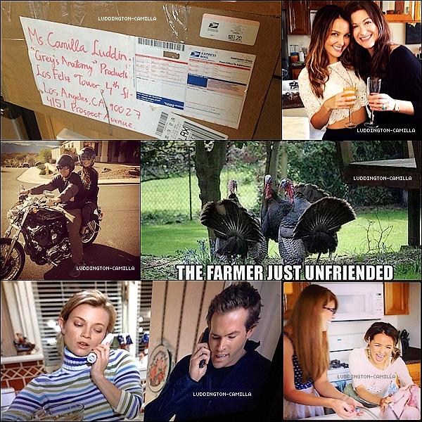 Voici des photos personnelles de Camilla qu'elle a postée sur Twitteravec des amies a elle !!