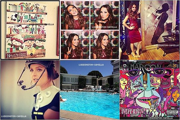 Voici des nouvelles photos postée par Camilla sur son twitter et sur son instagram !!