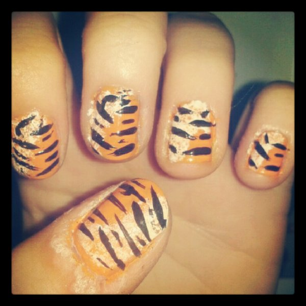 The nail of the tiger ! :D