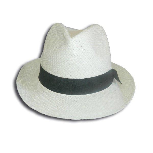 chapeau panama en paille de papiers