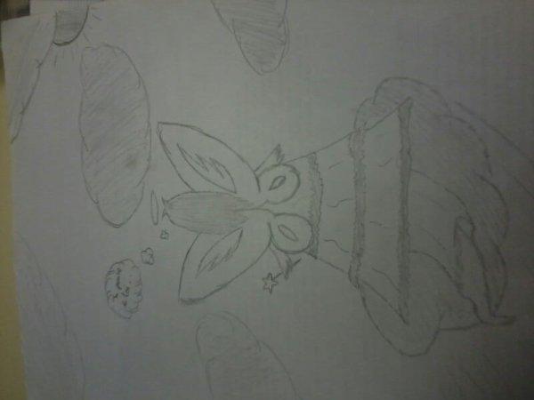 le dessin que j'ai fait pour mon Toniio