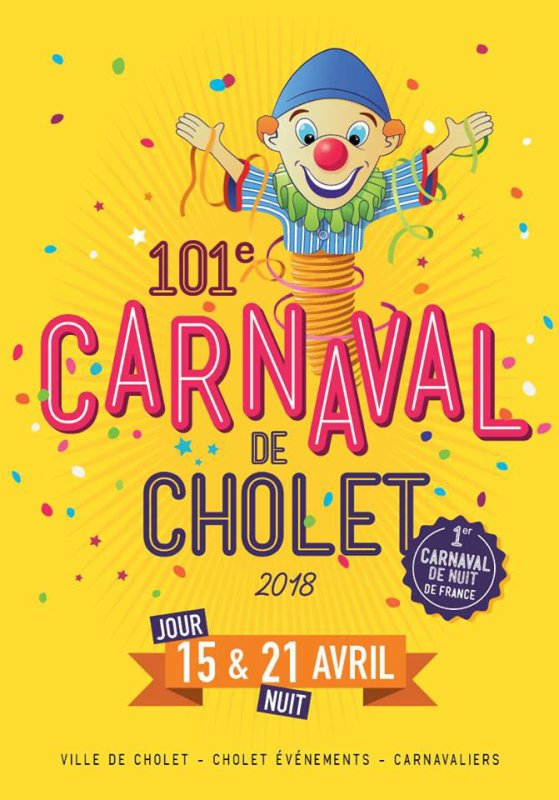 les dates des defiles du carnaval de cholet 2018