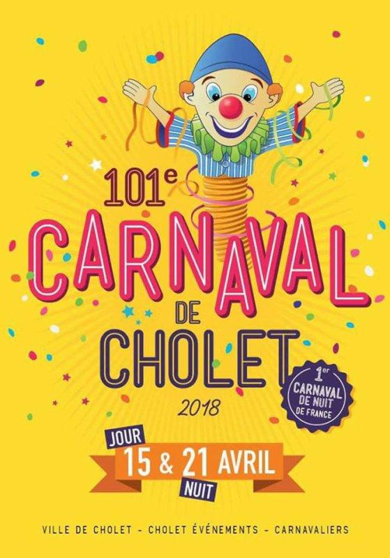 DEFILES  DU CARNAVAL DE CHOLET 2018