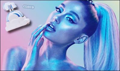 • Un peu d'infos sur « Cloud » : Le nouveau et cinquième parfum de la belle Ariana Grande ! C'est donc après « Sweet Like Candy », « FRANKIE », « ARI » et « Moonlight », qu' Ari enchaîne avec un nouveau parfum très différent des premiers.