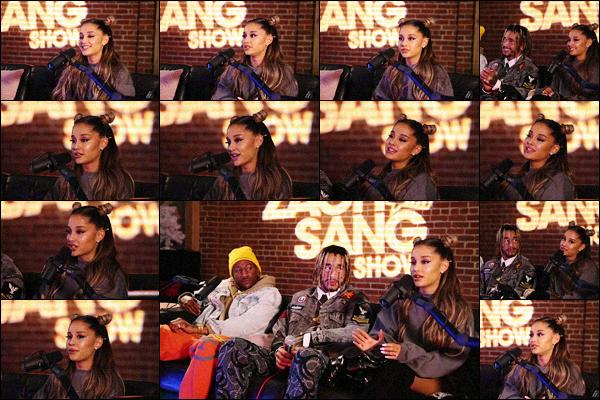 . ⁂ Ariana est allée présenter son nouvel album dans l'émission « Zach Sang Show » sur YT. .