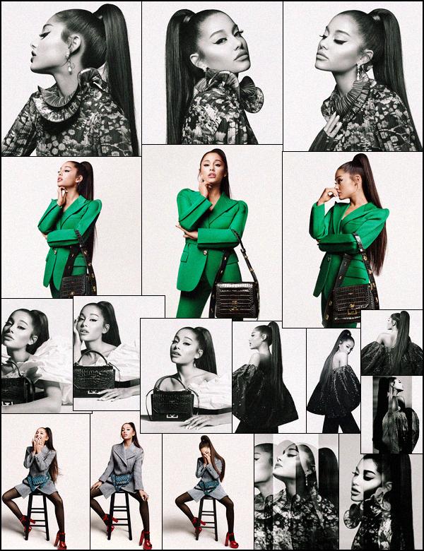 . ⁂  Ariana collabore avec la marque de luxe :  « Givenchy » pour la collection automne 2019 ! .