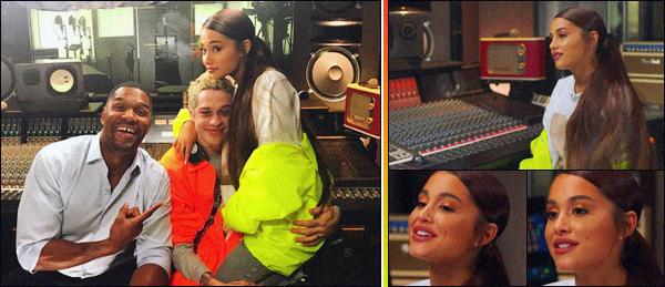 """"""" -21/08/18 •- Ariana Grande était invitée à l'émission « Good Morning America » se trouvant dans New York City ! La belle à chanté son tube « God is a Woman » une performance magnifique. Elle à aussi annoncé qu'elle ferait bien une tournée à partir de février 2019."""