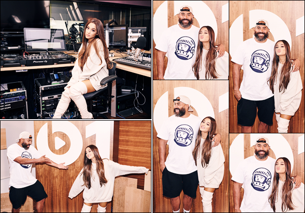 -17/08/18 •- Ariana Grande s'est rendue aux studios de la radio :« Beats 1 by Apple Music » dans New York City. Vous vous en doutez tous, qui dit sortie d'un nouvel album, dit promo a Gogo ! En tout cas je suis vraiment ravie d'avoir autant de nouvelles de la belle ! La jeune femme à fondu en larmes en évoquant les attentats survenus lors de son concert à Manchester le 22/05/17. • Retrouvez la video en cliquant ici.
