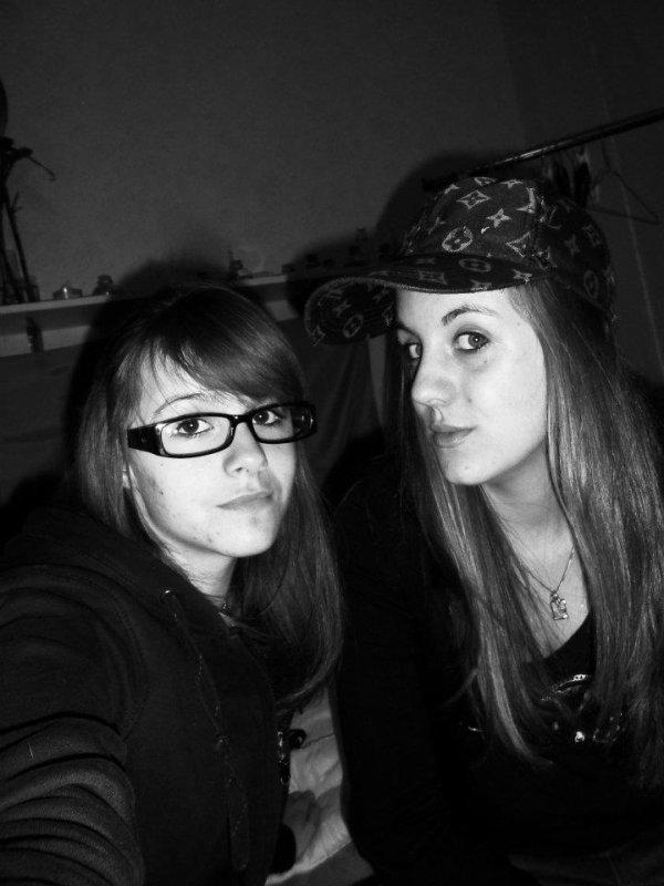 Moi et ma soeur de coeur ! <3<3<3