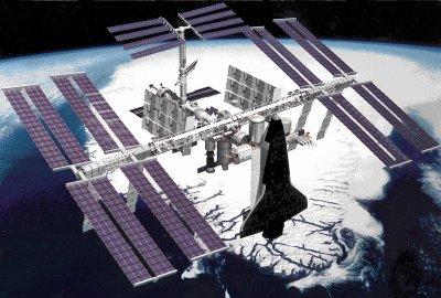 Recherche : La station spatiale internationale (ISS)