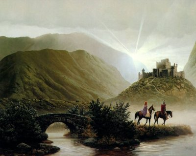 paysage fantastique