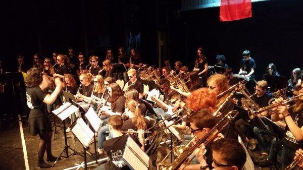 classe orchestre au collège ( gorron )