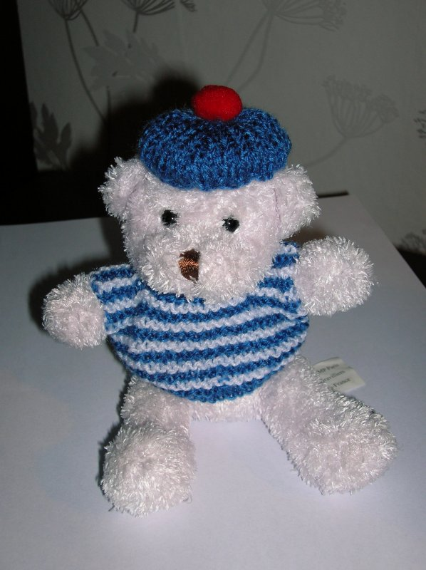 tricot ( petit marin )