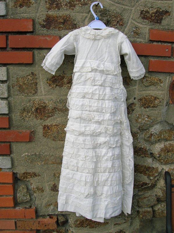 robe de baptême