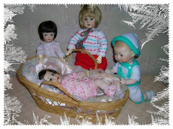 bleuette, loulotte et bambino