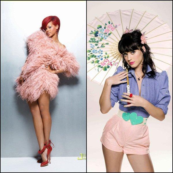 Rihanna vs Katy Perry