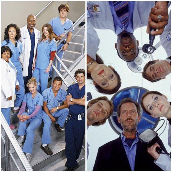 Grey's Anatomy Vs Dr House