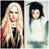 VS rock! Avril Lavigne VS Evanescence