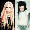 VS rock! Avril Lavigne VS Evanescence