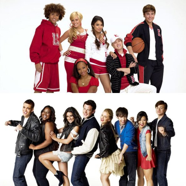 High School Musical VS Glee