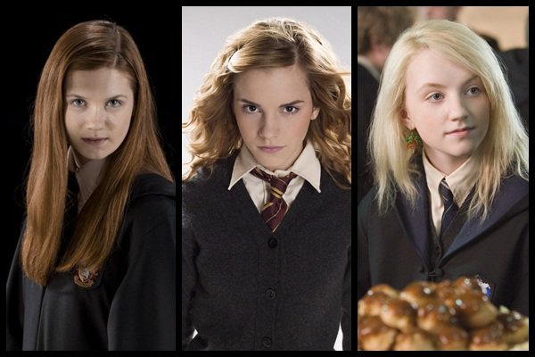 Ginny Weasley VS Hermione Granger VS Luna Lovegood