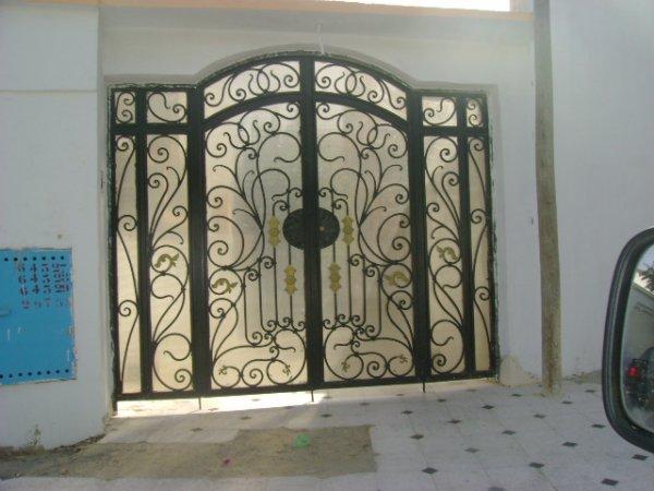 Portes fer forge avec plastiglas transparent blog de fitoart for Porte fer forge tunisie