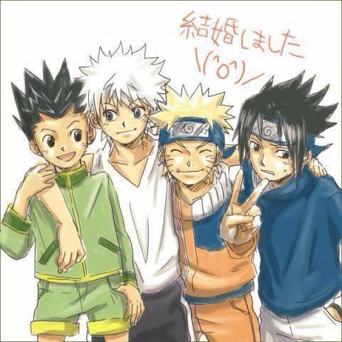 HunterX Hunter et Naruto