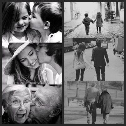 Quand l'amour est vrai. Il ne meurt jamais. :) ♥
