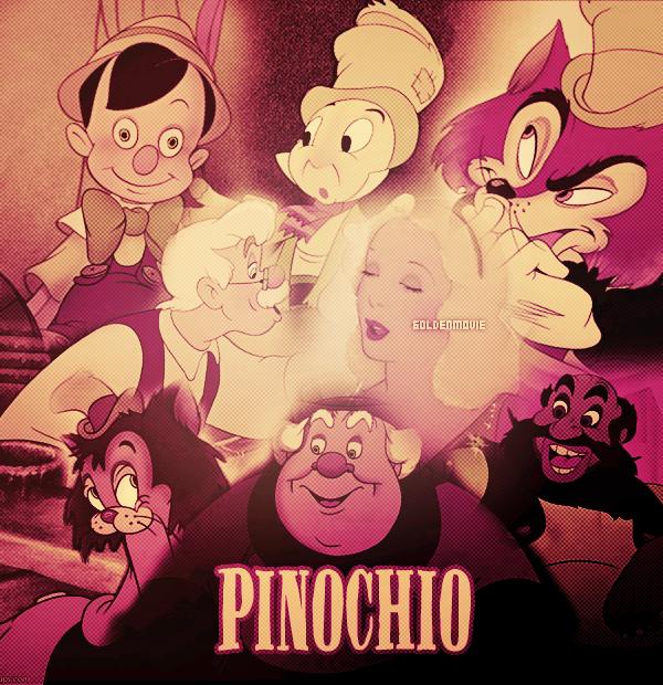 Pinochio sortie en 1940