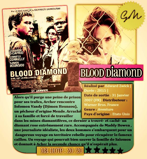 Blood Diamond sortie le 27 Janvier 2007