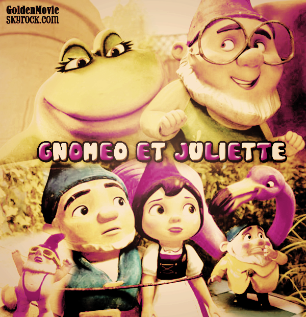 Gnomeo et Juliette sortie le 11 fevrier 2011