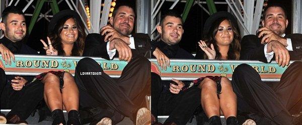 Demi était présente ce 25 Septembre au '4th Annual Summer Spectacular'. Top ou Flop?