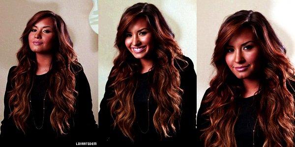 De nouvelles photos de Demi lors de son passage au Los Angeles Times le 23 Septembre par Kirk MCKoy !