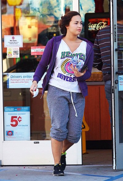 Demi sortant du Sherman Oaks ce 7 Octobre.