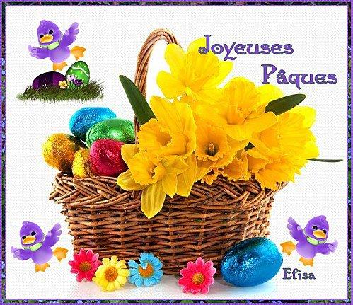 bonnes fêtes de pâques à tertous