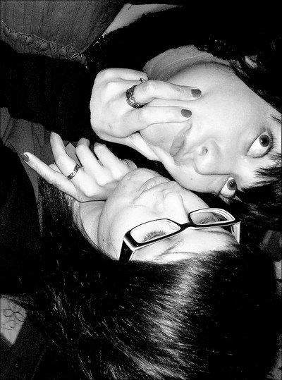 A elle la plus forte de toutes .  Toujours je serais là mon amour ma jumelle mon étoile mon reflet ma passion <3.
